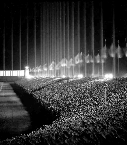 Cathedral-of-Light-Albert-Speer-Zeppelinfeld-Tribune-Nürnberg-Reichsparteitag-Germany-1900-1939-Third-Reich-NSDAP-Peter-Crawford