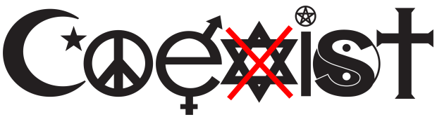 Coexist...NOT