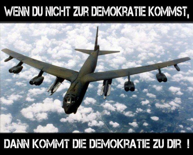 demokratie kommt