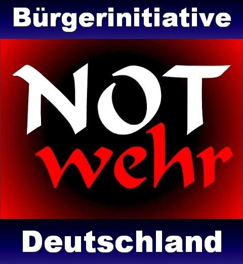 Die Bürgerinitiative Notwehr Deutschland.